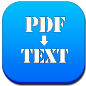 Quick PDF to Text