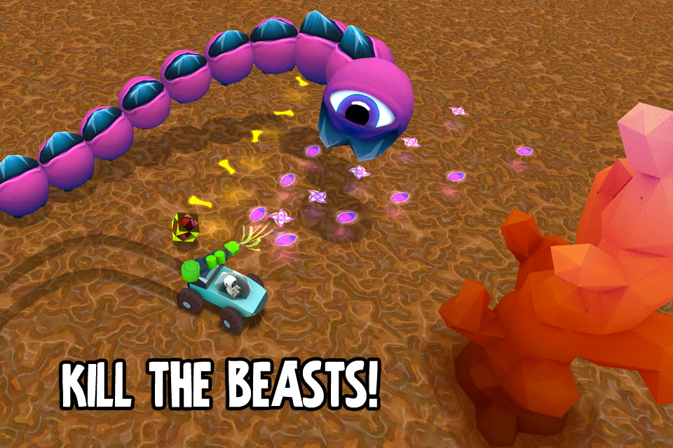 Free Mini Beasts iPhone Game