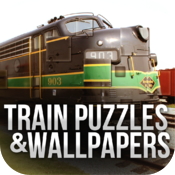 Train Puzzles Pack & Wallpapers Pro icon