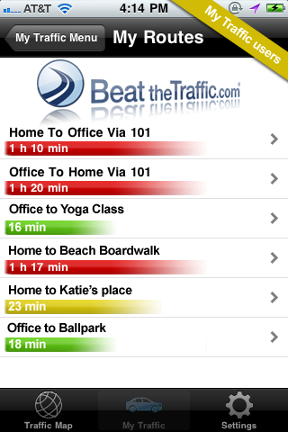 Beat the Traffic Screenshot