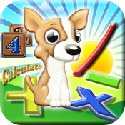 Math Puppy – Bingo Challenge Educational Game for Kids HD icon