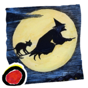 Tilly Witch - Don Freeman's classic Halloween story book for kids (iPad version, by Auryn Apps) icon