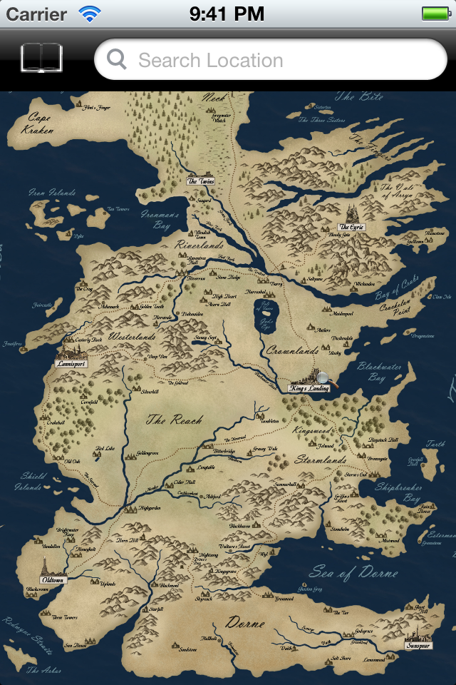 The gallery for --> Westeros Map Hbo