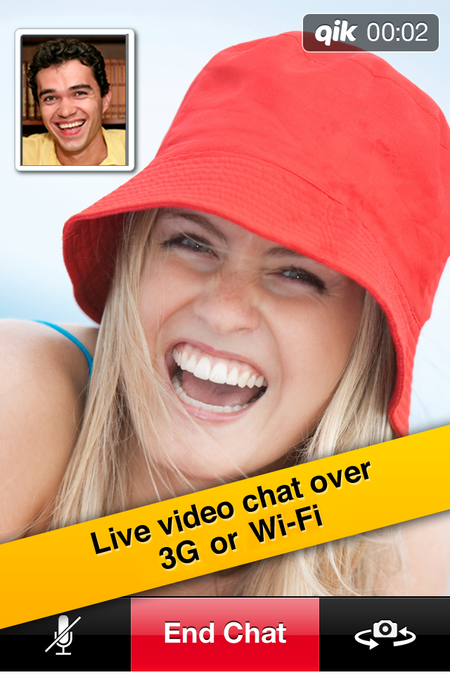 Qik Video free app screenshot 1