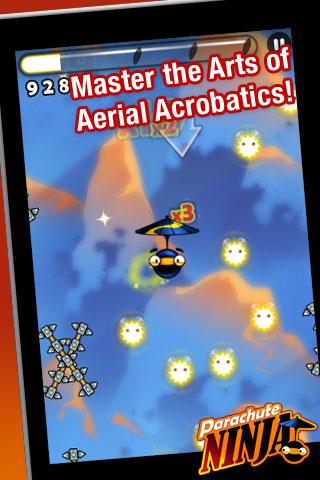 Parachute Ninja Free