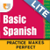 Practice Makes Perfect: Basic Spanish Companion (Lite) by PlaySay