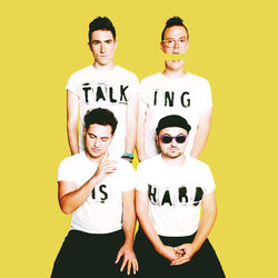 View album Walk the Moon - TALKING IS HARD