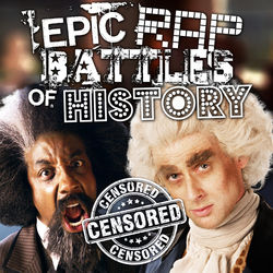 View album Epic Rap Battles of History - Frederick Douglass vs Thomas Jefferson - Single