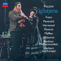 View album Berliner Philharmoniker, Mirella Freni, Herbert von Karajan, Luciano Pavarotti, Elizabeth Harwood, Rolando Panerai, Gianni Maffeo & Nicolai Ghiaurov - Puccini: La Bohème
