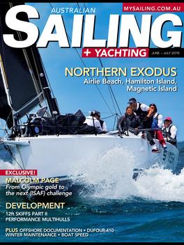 Australian Sailing + Yachting LOGO-APP點子