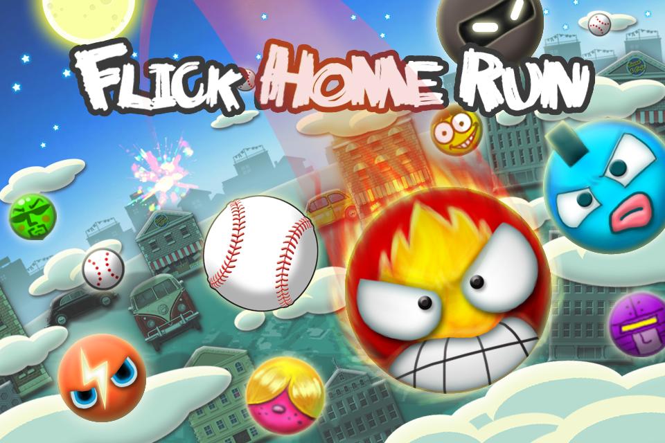 Flick Home Run screenshot 1