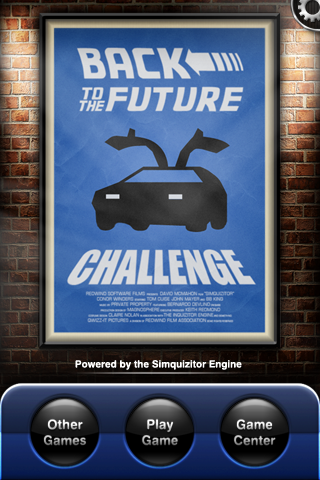 Back To The Future Challenge