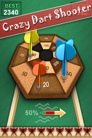 Crazy Dart Shooter Screenshot