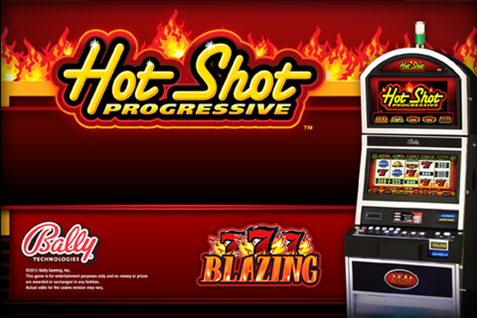 blazing sevens hot shot progressive