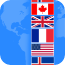 FlagsQuizGame mobile app icon