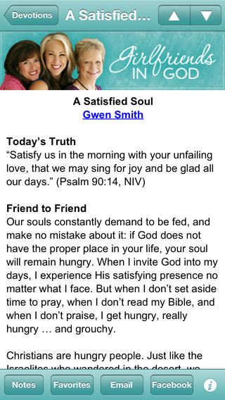 Girlfriends in God Devotional
