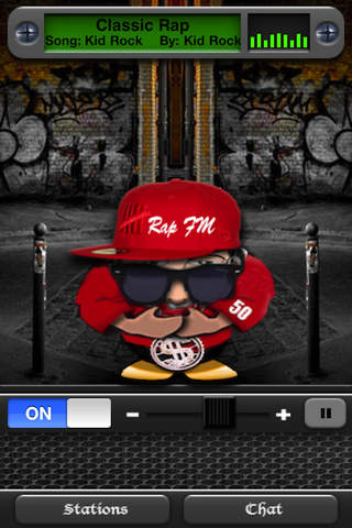 Rap FM iPhone Screenshot 4