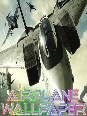 Airplane Wallpaper – iPad version