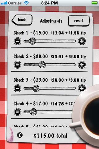 Tip Calculator - with bill splitter screenshot 4