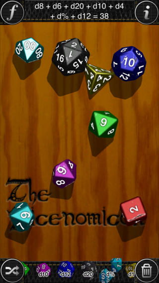 【免費遊戲App】The Dicenomicon-APP點子