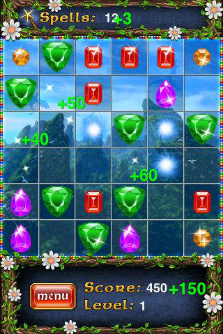Mystic Jewels screenshot 1