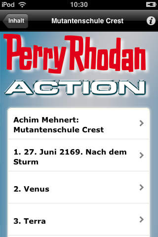 Perry Rhodan Action Band Nr. 27 - Mutantenschule Crest