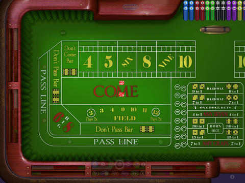 Craps HD iPad Screenshot 2