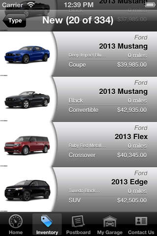 My Berge Ford DealerApp