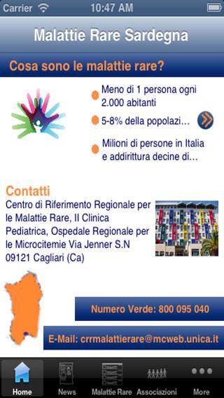 Malattie Rare Sardegna