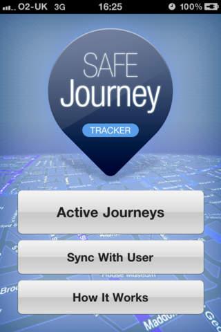 SafeJourney Tracker