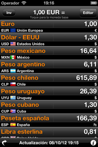 Currency Converter - Money Exchange Rates for more than 220 currencies! screenshot 1