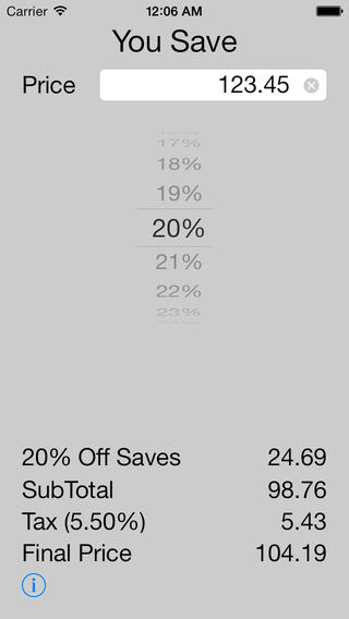 You Save