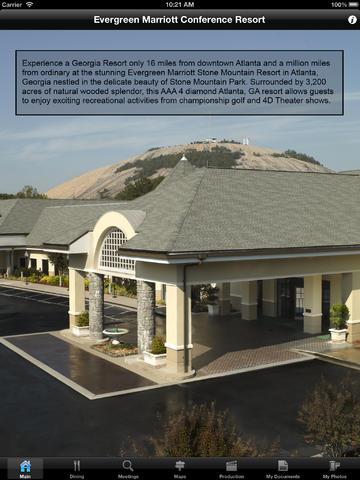 Evergreen Marriott Conference Resort Meetings