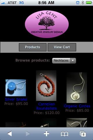 Lisa's Jewelry iPhone Screenshot 3