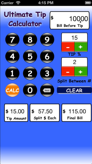 Ultimate Tip Calc