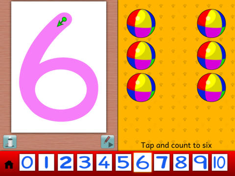 Writing Numbers iPad Screenshot 2