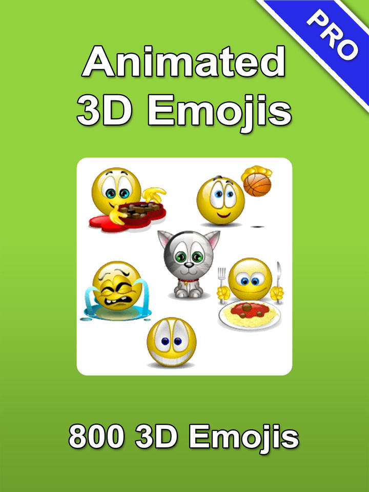 Emoji 3d Animated Emoticons Icons Ios Store App Ranking And App | Apps ...