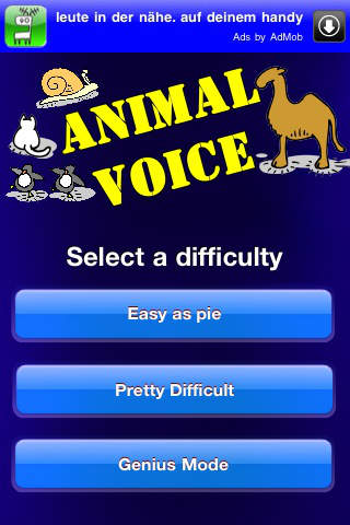AnimalVoice iPhone Screenshot 5