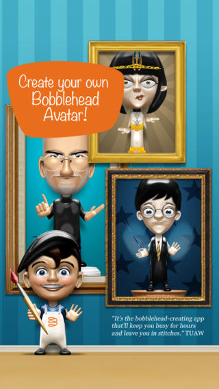 Bobbleshop - Bobble Head Avatar Maker Screenshot