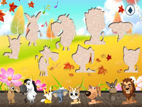Пазлы с животными для детей и взрослых