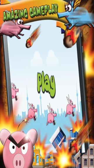 Piggy Power - Angry Ninja Pigs Revenge Race Pro Game