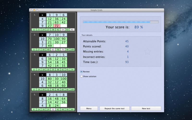 Simple Grids Screenshot - 4