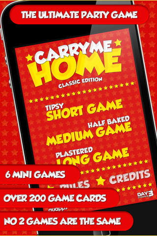 Christmas Carry Me Home - The Ultimate Party Game