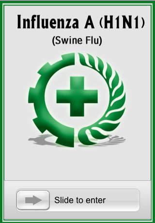 Influenza A(H1N1) iPhone Screenshot 1