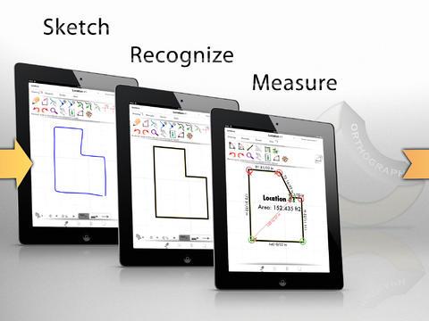 OrthoGraph Architect 3D CAD IFC/DXF floorplan iPad
