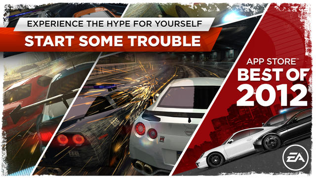 Need for Speed™ Most Wanted - iPhone Mobile Analytics and App Store Data