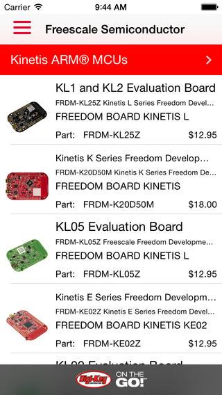 Freescale & Digi-Key ON-THE-GO!℠ – Electronics Solutions