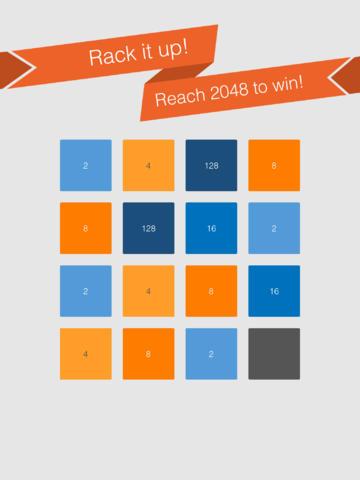 Screenshots for 2048 Rack it up!