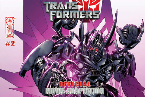 Transformers: The Movie Adaptation #2 (of 4)
