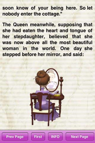 Snow White Story Book